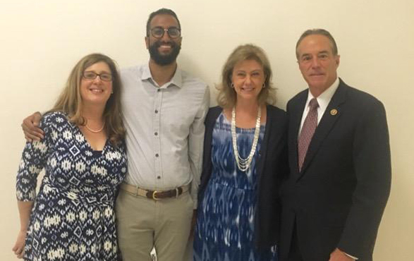 Capitol Hill Lobby Day with Dr. Litvack, Dr. Surapaneni, Dr. Danahy and Rep. Chris Collins