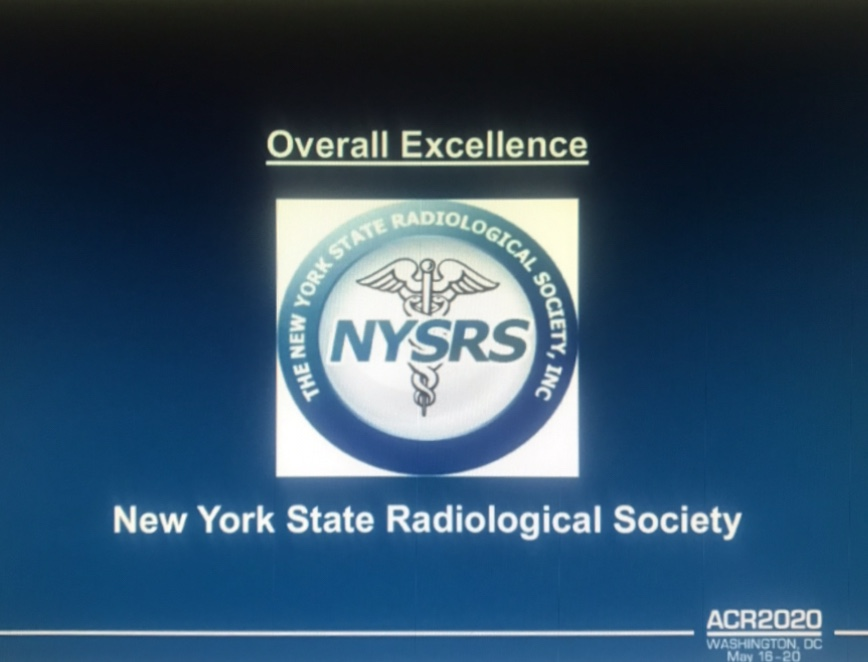 NYSRS-Overall Excellence Award